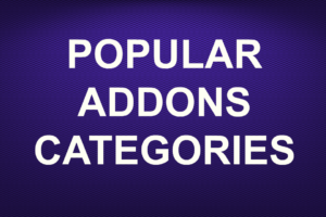 POPULAR ADDONS CATEGORIES