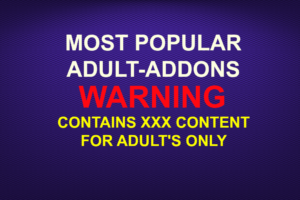 MOST POPULAR ADULT ADDONS