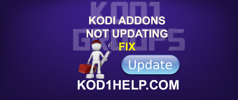KODI ADDONS NOT UPDATING FIX