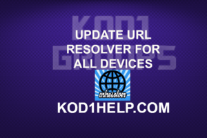 UPDATE URL RESOLVER FOR ALL DEVICES