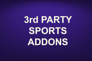 3rd PARTY SPORTS ADDONS
