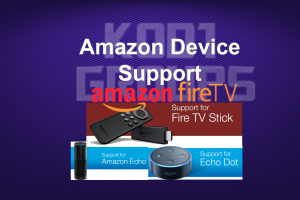 Amazon Device Support