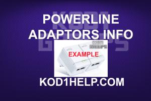 POWERLINE ADAPTORS INFO