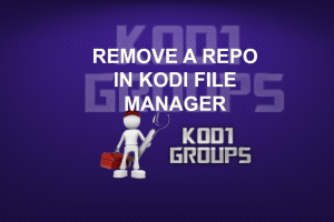 REMOVE A REPO IN KODI FILE MANAGER