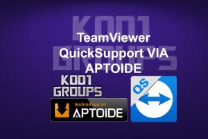 TeamViewer QuickSupport VIA APTOIDE