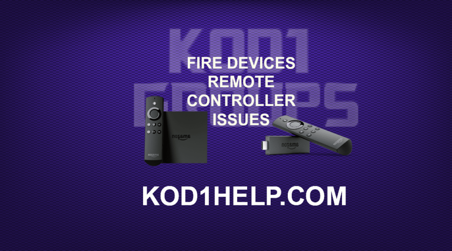 FIRE DEVICES REMOTE CONTROLLER ISSUES