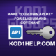 MAKE YOUR OWN API KEY FOR ELYSIUM AND COVENANT
