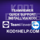 TEAMVIEWER QUICK SUPPORT INSTALL VIA KODI