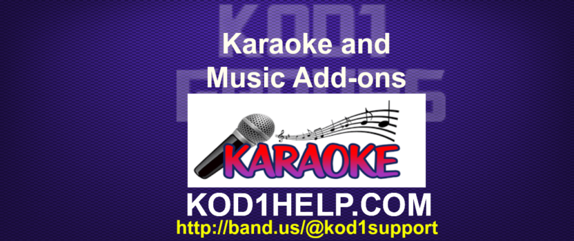 Karaoke and Music Addons