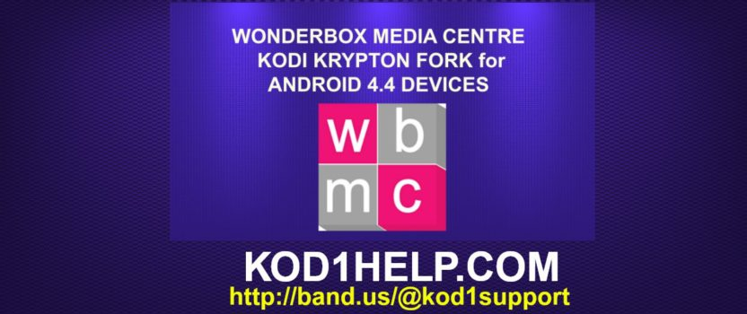 WONDERBOX KODI KRYPTON FORK for ANDROID 4.4 DEVICES
