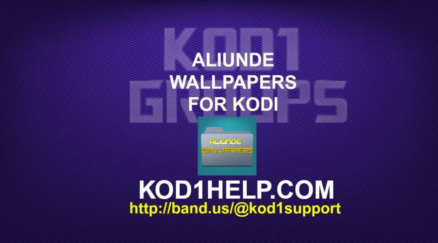 ALIUNDE WALLPAPERS FOR KODI