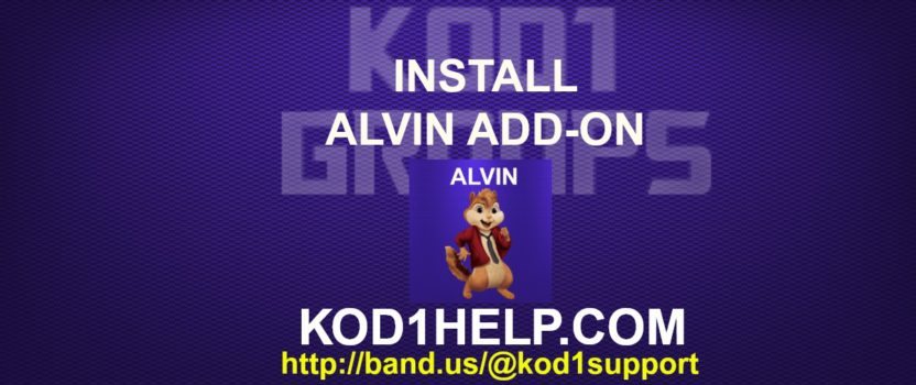 INSTALL ALVIN ADD-ON