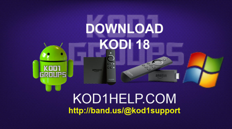 DOWNLOAD KODI 18.3