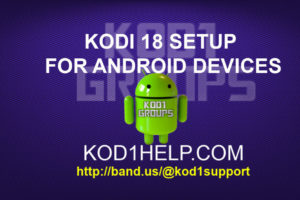 KODI 18 SETUP FOR ANDROID DEVICES