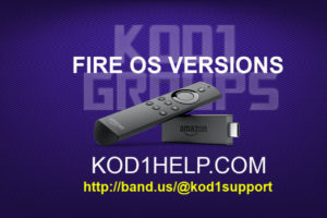 Fire OS Versions